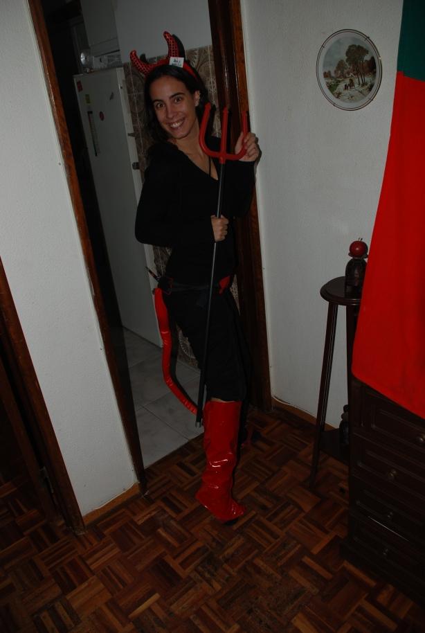 Eu treinando as diabruras (Foto Rui serrano)